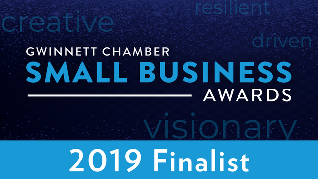 Gwinnett Chamber of Commerce Small Business Award 2019 Finalist