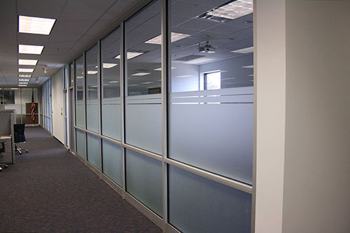 Image of PHA Body Systems' commercial interior renovation. PHA Body Systems is located in Montgomery, Al